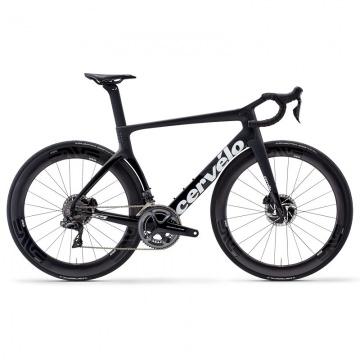 Cervelo S5 Komplettrad Disc Shimano DuraAce DI2 9170 Gr 48 Farbe schwarzweiss