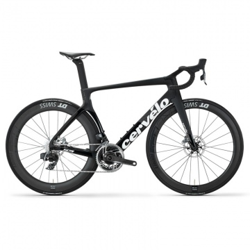 Cervelo S5 Komplettrad Disc Shimano DuraAce DI2 9170 Gr 54 Farbe schwarzweiss