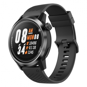 COROS APEX Premium Multisport GPS Watch 46 mm BlackGray GPS MultisportTrainingscomputer  SchwarzGrau