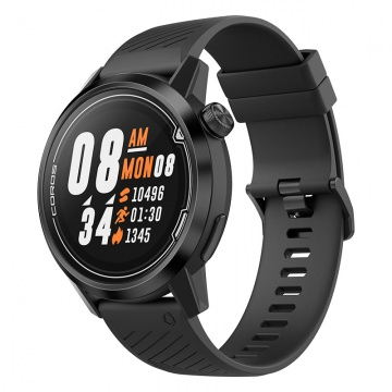 COROS APEX Premium Multisport GPS Watch 42 mm BlackGray GPS MultisportTrainingscomputer  Schwarz
