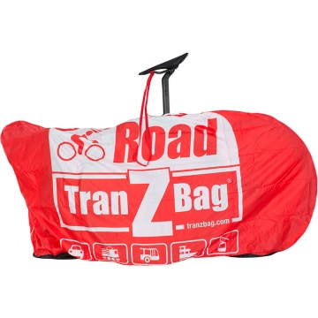 TranZbag Road BikeTransporttasche  Red Rot