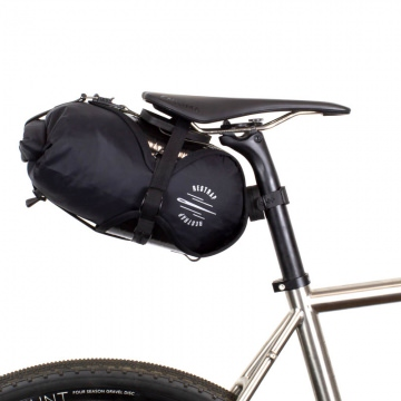 Restrap Race Saddle Bag Satteltasche Schwarz 7 Liter
