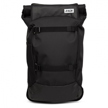 AEVOR Trip Pack Rucksack 26  33 Liter Volumen   Proof Black Schwarz