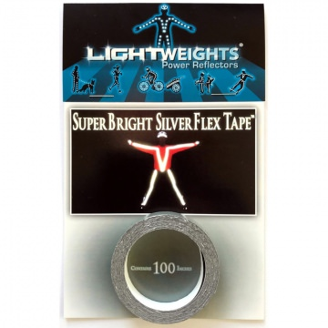 Lightweights 3M Super Bright Flex Tape  Silver Silber