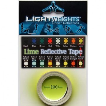 Lightweights Reflective Tape 3M Reflexband  Lime