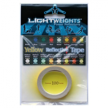 Lightweights Reflective Tape 3M Reflexband  Yellow Gelb