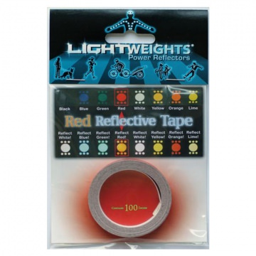 Lightweights Reflective Tape 3M Reflexband  Red Rot