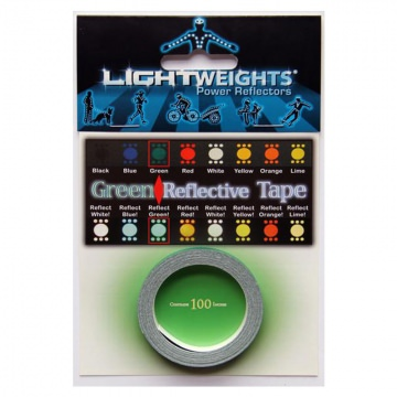 Lightweights Reflective Tape 3M Reflexband  Green Grün