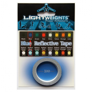 Lightweights Reflective Tape 3M Reflexband  Blue Blau