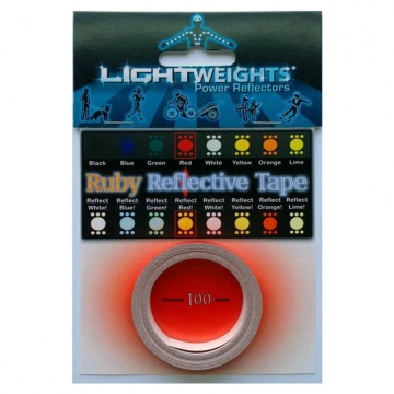 Lightweights Reflective Tape 3M Reflexband  Ruby Rot