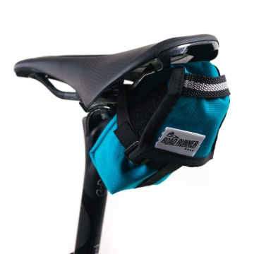 Road Runner Bags The Drafter Saddle Bag Satteltasche türkis