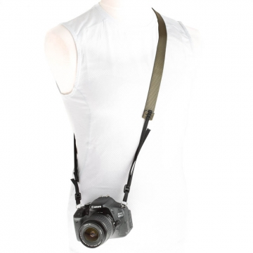 Road Runner Bags Camera Strap oliv - Kameragurt Hand Made in USA