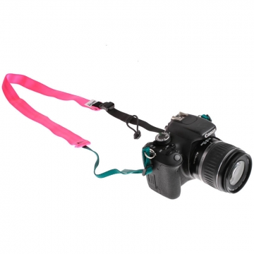 Road Runner Bags Camera Strap pink  Kameragurt Hand Made in USA
