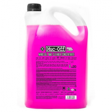 MucOff Bike Cleaner Concentrate Nano Gel 5l