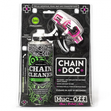 MucOff Chain Doc incl Chain Cleaner 400ml  Praktisches Twin Pack