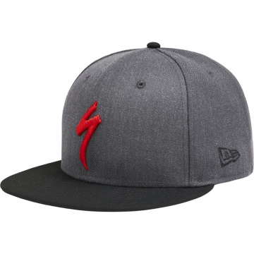 Specialized NEW ERA 9fifty Snapback Hat grau Kappe Schirmmütze