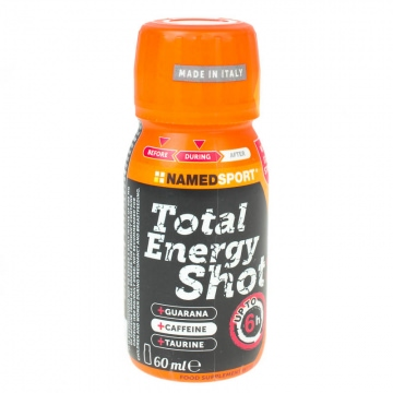 NamedSport Total Energy Shot Orange 60 ml