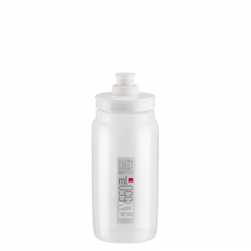 Elite Trinkflasche Fly 550 ml TransparentGrau