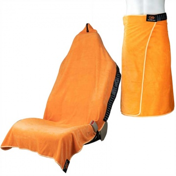 Orange Mud 3in1 Transition Wrap 20 Sporthandtuch  AutositzCover  UmziehHilfe orange