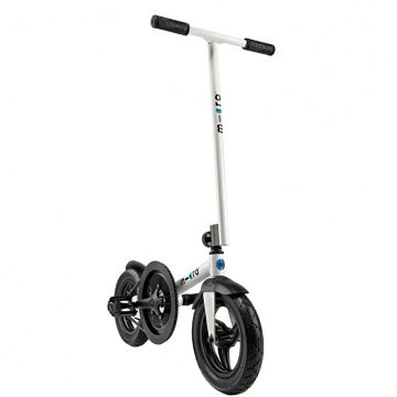 Micro Pedalflow Weiss  Trainingsscooter