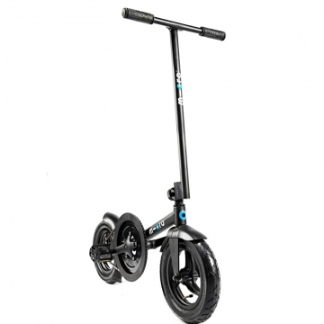 Micro Pedalflow Schwarz Trainingsscooter
