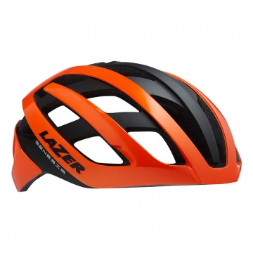 Lazer Genesis Rennradhelm Flash Orange Gr L