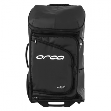 Orca Travel Bag Triathlontasche mit Rollen Schwarz