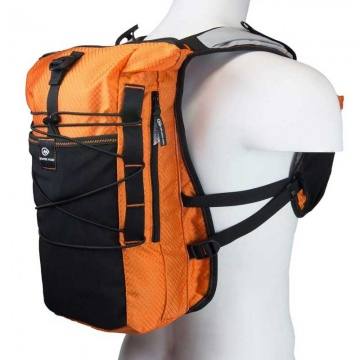 Orange Mud Adventure Pack orange 12 Liter Trailrunning und BikeRucksack inkl Trinksystem  Trinkblase