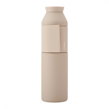 Closca Bottle Wave Trinkflasche 600 ml  Sahara Beige