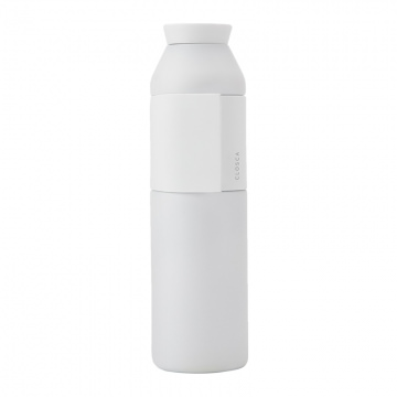 Closca Bottle Wave Trinkflasche 600 ml  White Wei