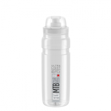 Elite Trinkflasche Fly MTB 750 ml TransparentGrau