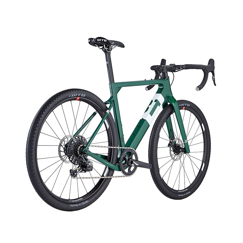 3T Exploro FM Team Force Special Racing Green Komplettrad Gr. L