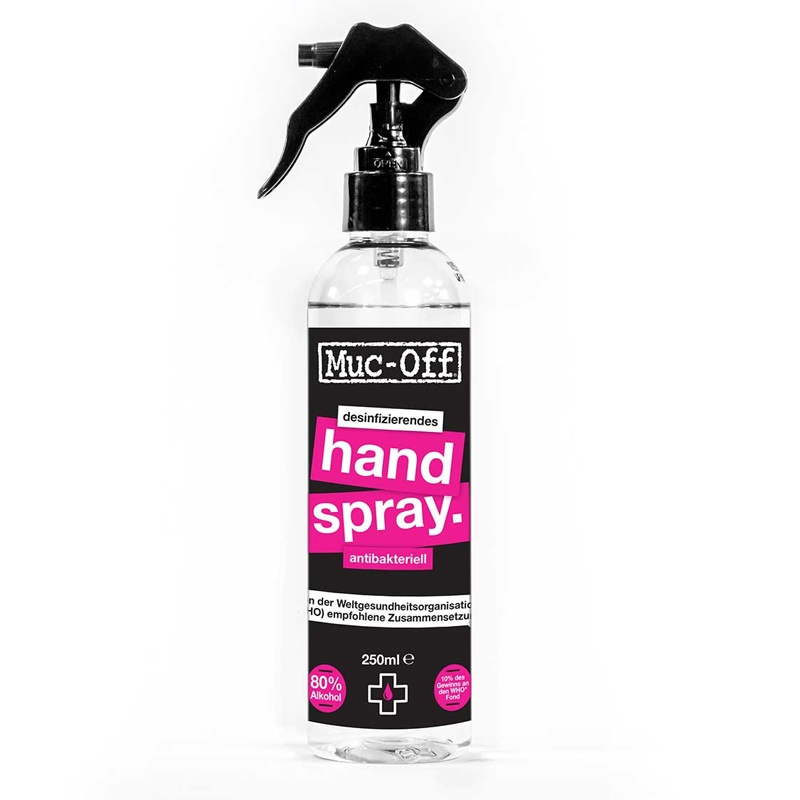 Muc Off desinfizierendes Handspray 250 ml