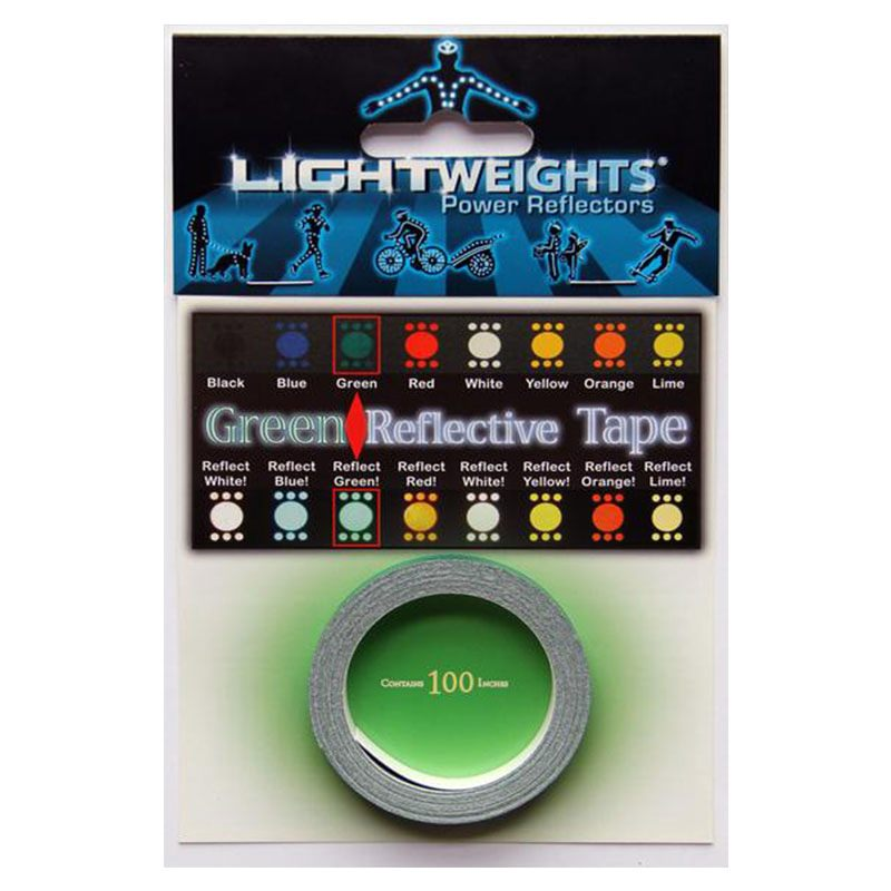 Lightweights Reflective Tape 3M Reflexband - Green (Grün)