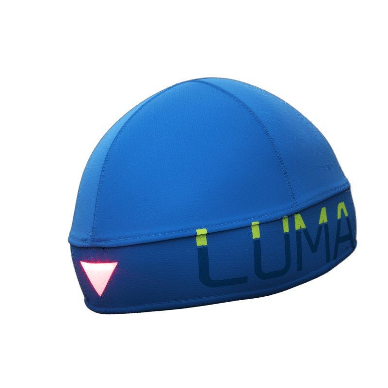 LUMA BOOST LED Stirnlampen-Mütze L/XL Blau