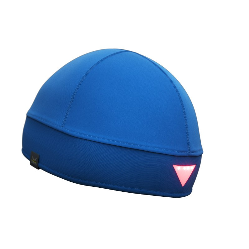 LUMA ACTIVE LED Stirnlampen-Mütze L/XL Blau
