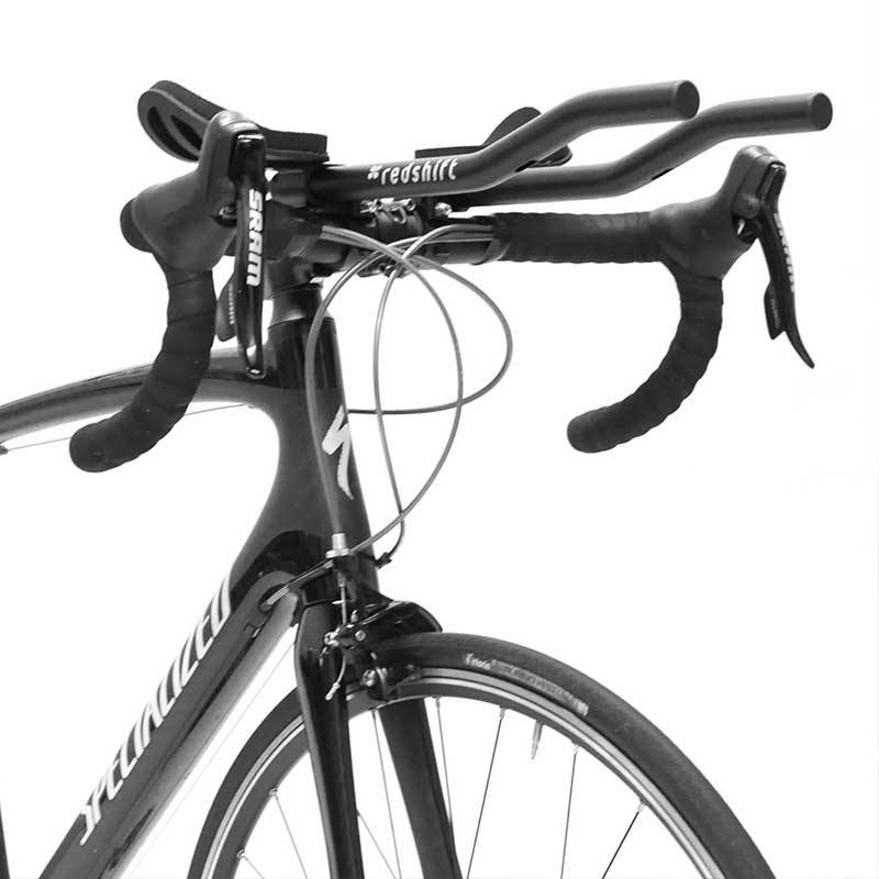 Redshift Sports Quick-Release Aerobars Carbon L-Form Schnellwechsel-Triathlonauflieger Triathlonlenker