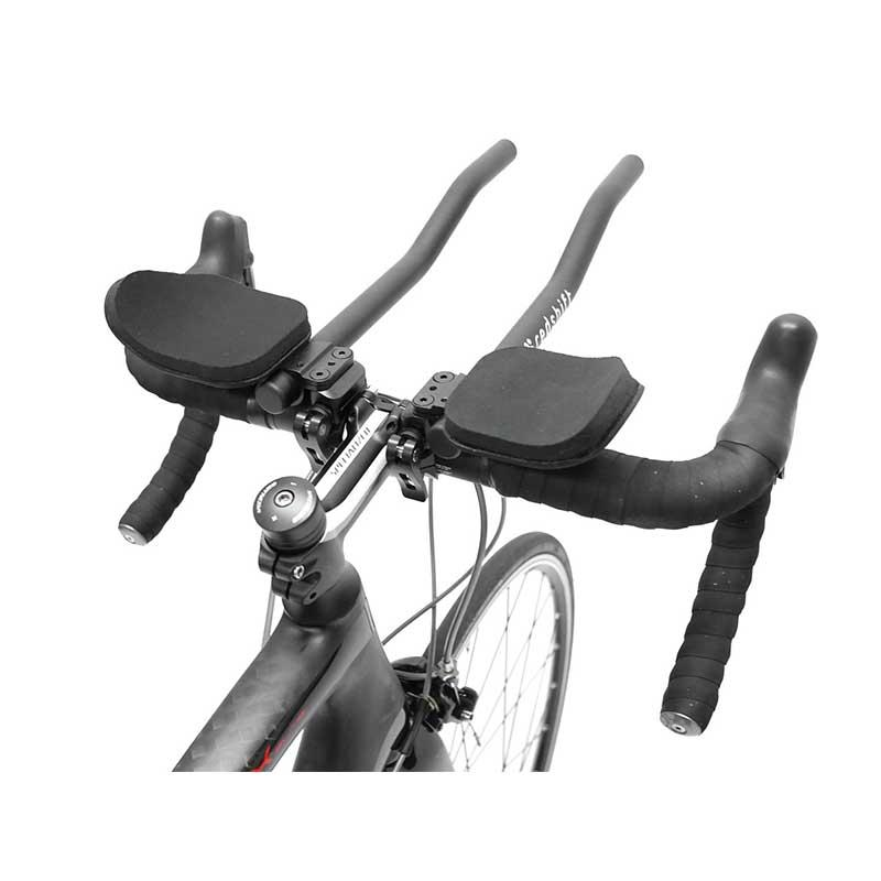 Redshift Sports Quick-Release Aerobars Carbon S-Form Schnellwechsel-Triathlonauflieger Triathlonlenker