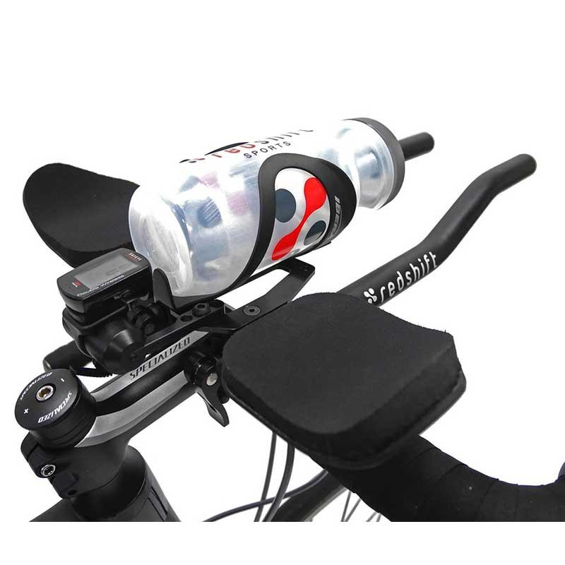 Redshift Sports Water Bottle Mount & Cage Trinksystem Flaschenhalter für QR Triathlonlenker