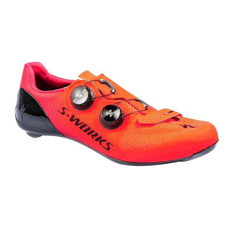 Specialized S-Works 7 Road Schuh Gr. 42,5 Rocket Red/Candy Red Modell 2018