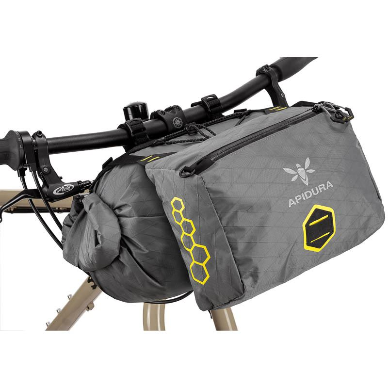 Apidura Backcountry Accessory Pocket 4,5 Liter Lenkertasche Clip-On für Apidura Handlebar Packs