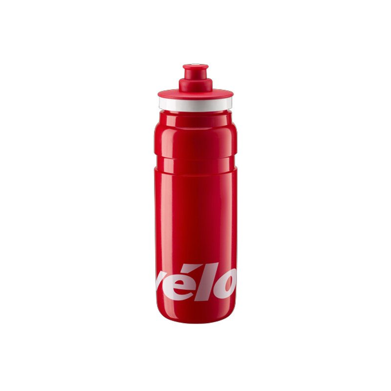 Elite Trinkflasche Fly Teams 750 ml - Cervelo rot