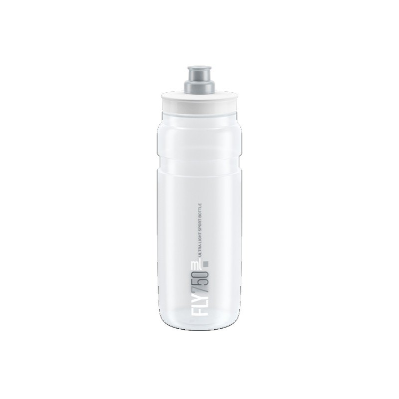 Elite Trinkflasche Fly 750 ml - transparent