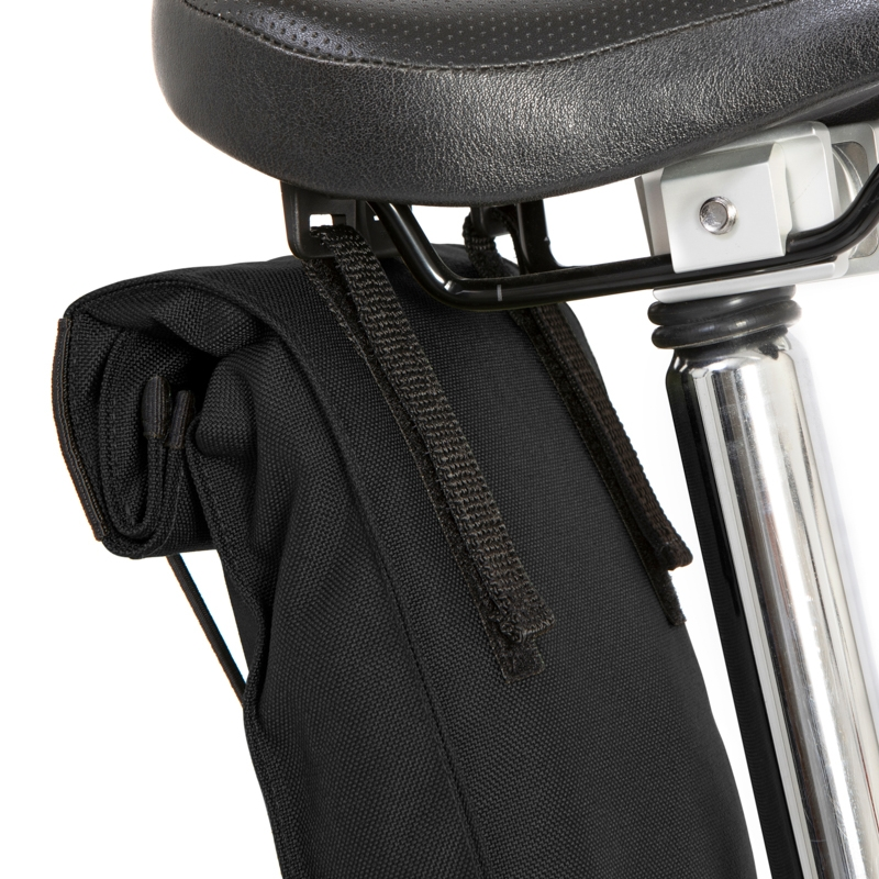 Restrap City Saddle Bag Large Satteltasche - Schwarz