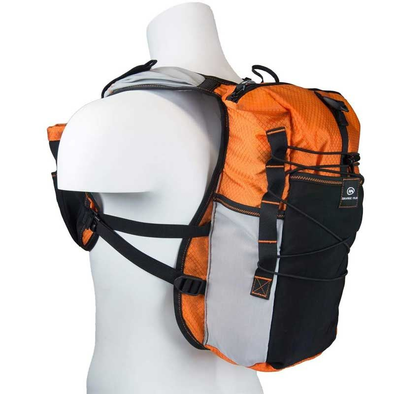 Orange Mud Adventure Pack orange 12 Liter Trailrunning- und Bike-Rucksack inkl. Trinksystem / Trinkblase